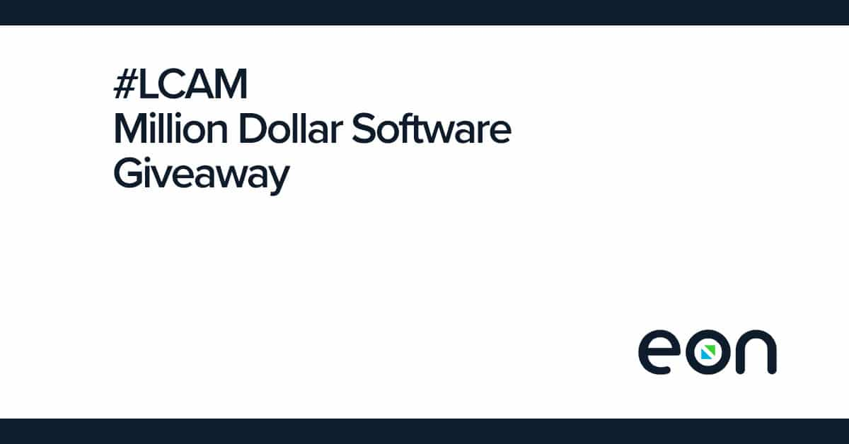 Million Dollar Software Giveaway LCAM